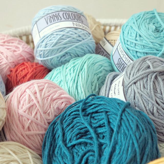 byHaafner, crochet, yarn, stash, Vinnis Nikkim, organic