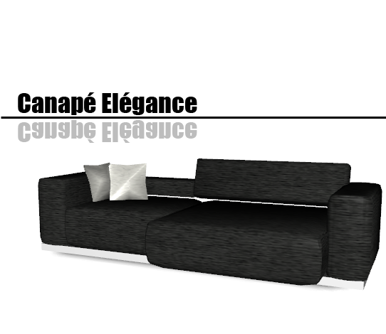 My sims 3 blog canap el gance and ensemble barcelona by for Canape tutorial