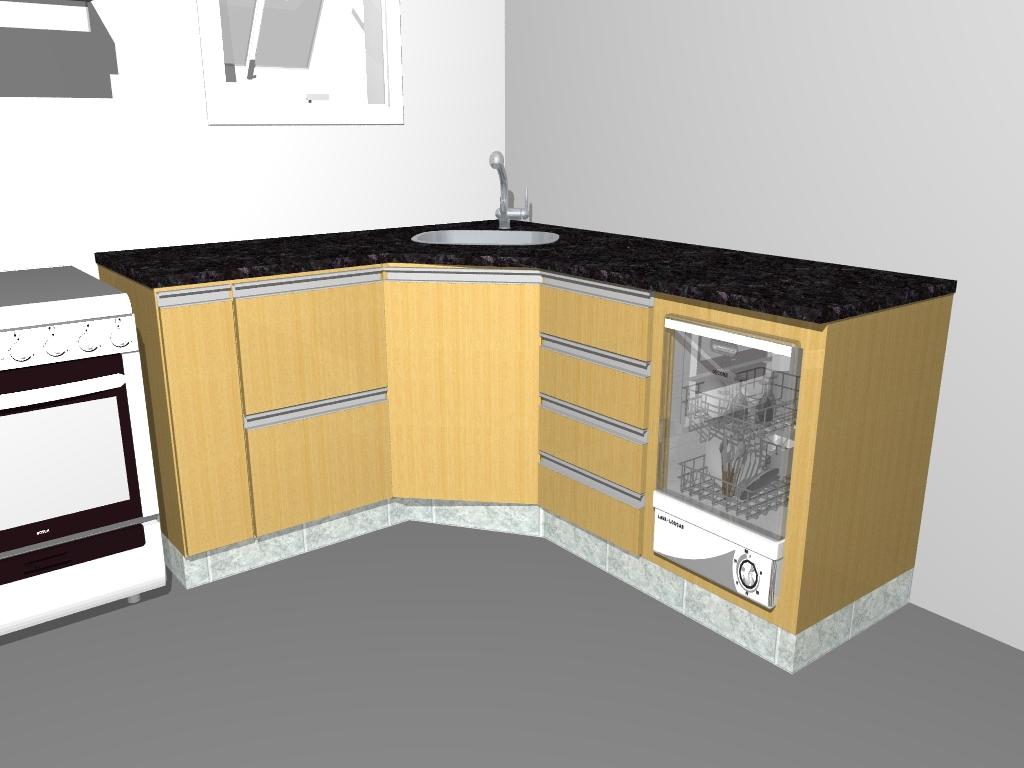 Marcenaria Caseira: Cozinha Planejada Francisco & Marlene #A97D22 1024 768