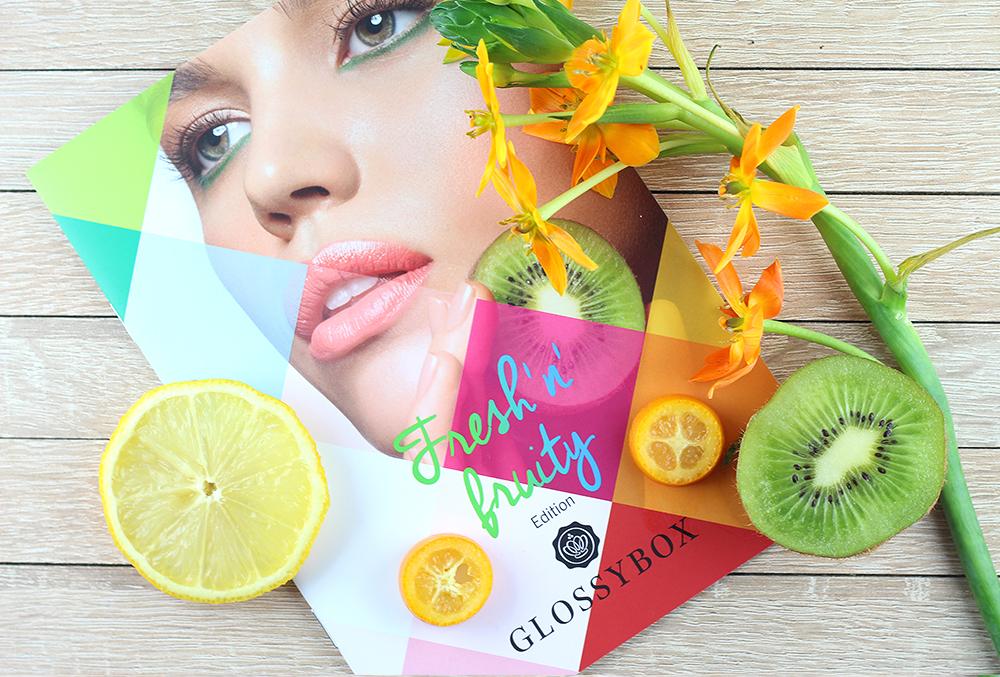 GLOSSYBOX Fresh 'n' Fruity Edition - März Ausgabe 2015
