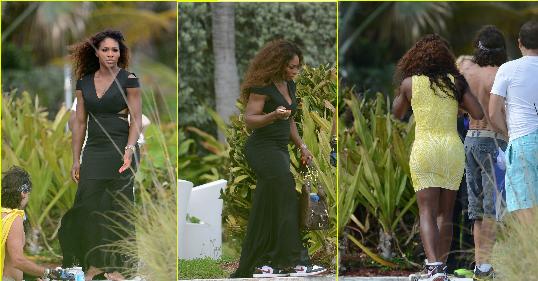 Serena Williams bikini photo shoot