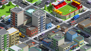 SimplePoly City Low Poly Assets