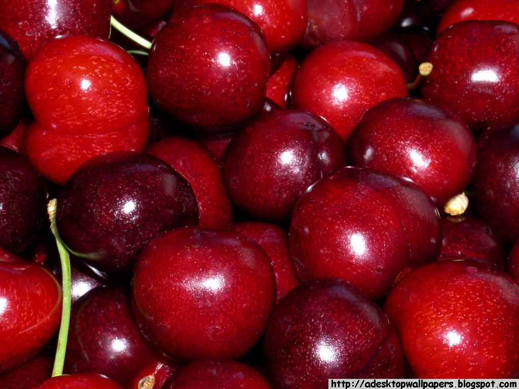 Cherry Cherries Fruit Desktop Wallpapers PC Free Wallpaper Beautiful High