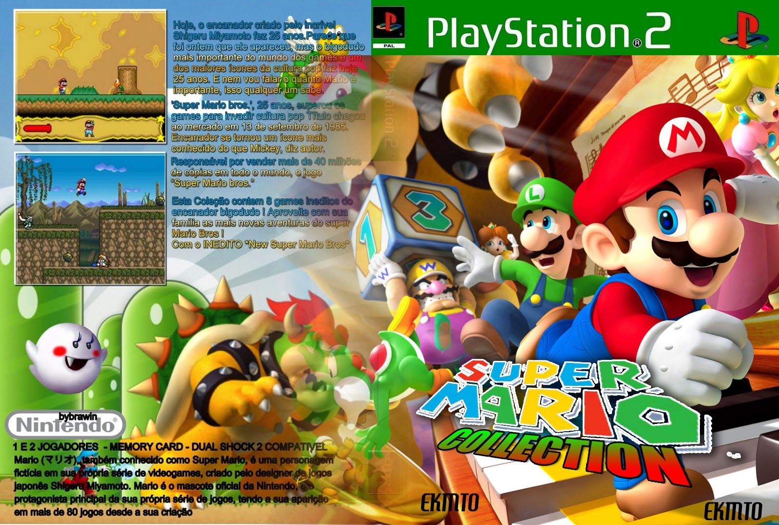 Mario Games For Ps3 : Cover tanda ps