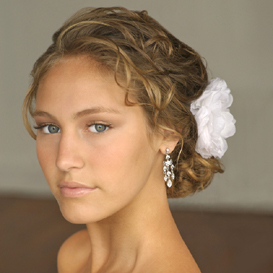 bridal hair flowers canada
