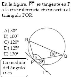 psu-matematicas: Desafío - Ángulos en la Circunferencia (Problema ...