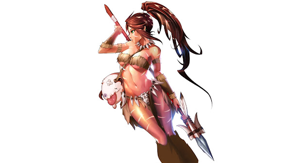 sexy nidalee girl league of legends game