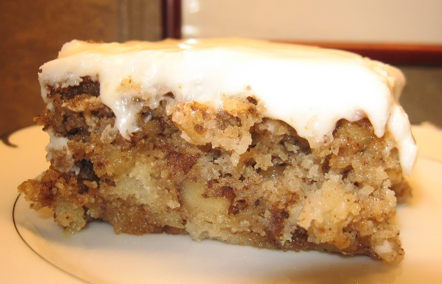 ... season is chopped apple cake chopped apple walnut cake recepten yummly