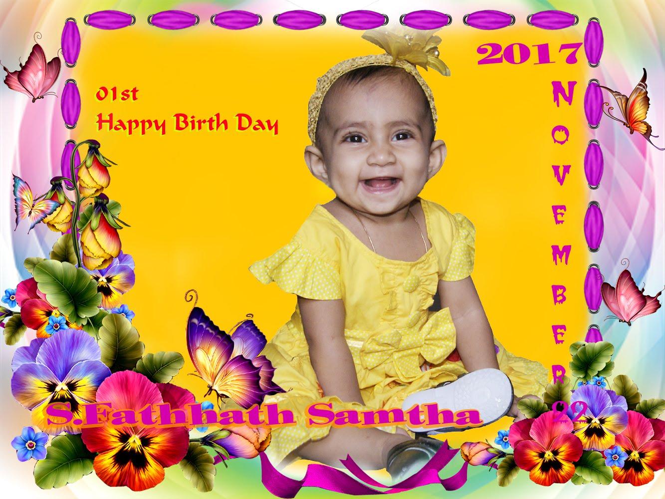 Happy Birth Day Samtha