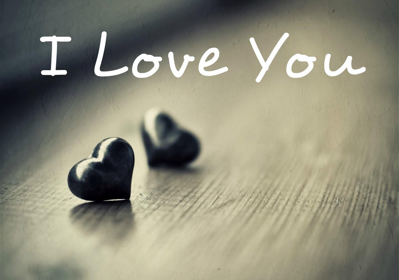 Cute Hearts I Love You HD Photo