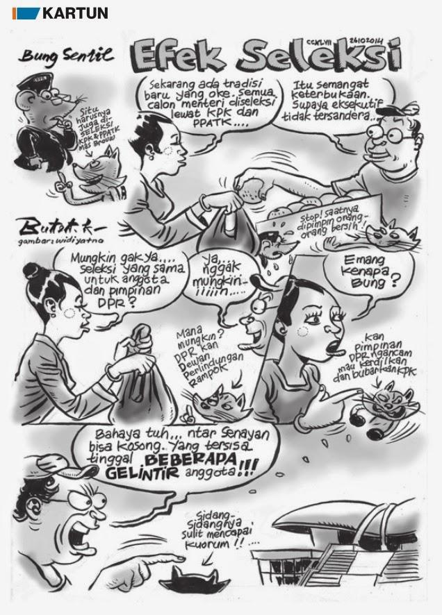 Seleksi DPR