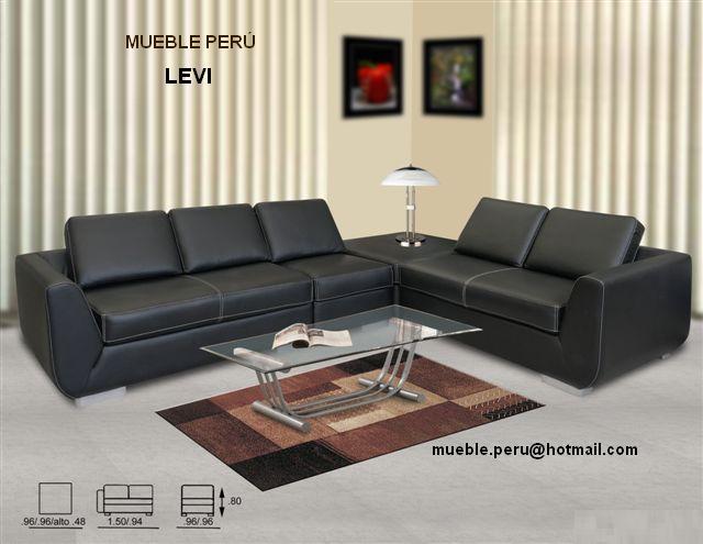8090 moderno sofá de cuero genuino de las imágenes de  - imagenes de muebles finos