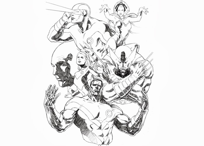 x men free coloring pages - photo#38