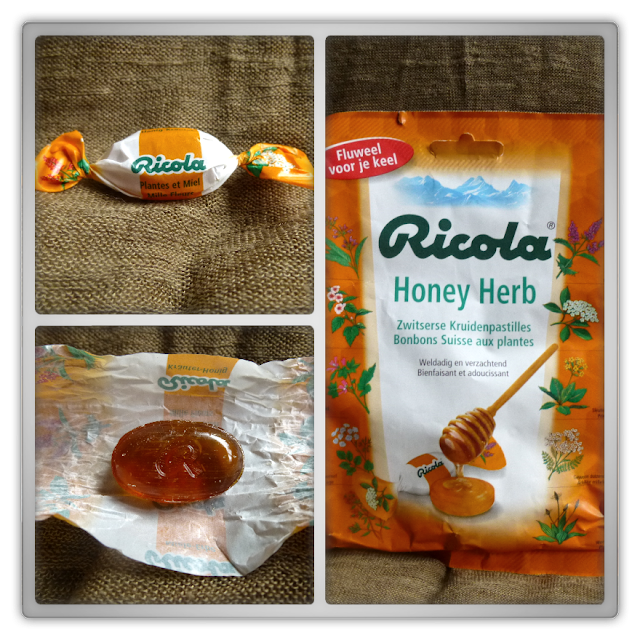Ricola Honey Herb kruidenpastilles