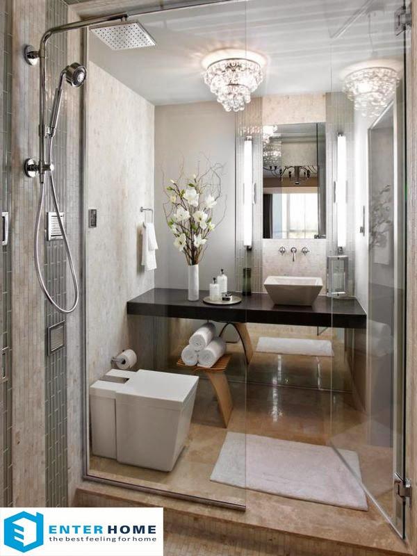 Thiết kế thi công nội thất phòng tắm nhà vệ sinh 2