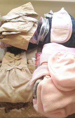 ordenar ropa peques que ya no usan