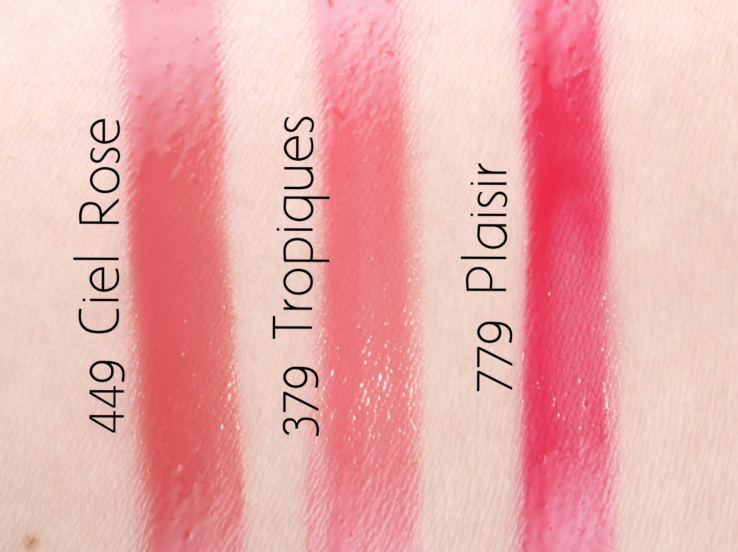 "Dior Summer 2015 Tie Dye Collection Dior Addict Fluid Stick in ""379 Tropiques"", ""779 Plaisir"" & ""449 Ciel Rose"": Review and Swatches"