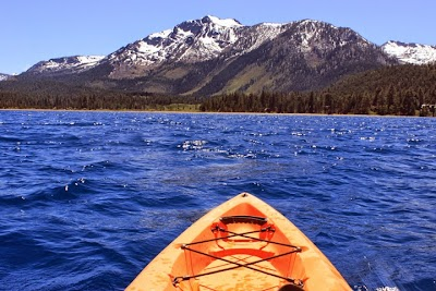 Guest Post: Biking, Climbing, Kayaking and Hiking Lake Tahoe This Summer Based From a Deluxe, Catered Camp