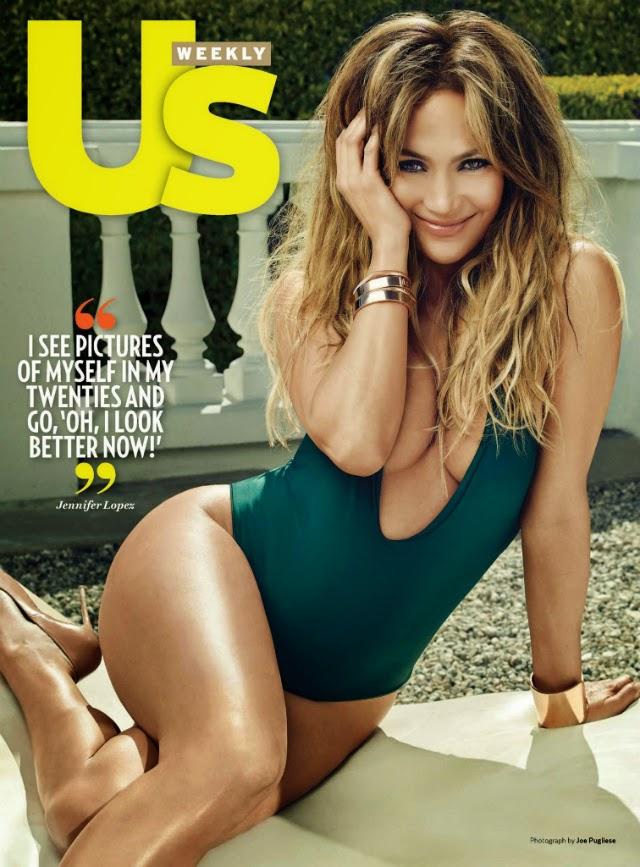 Jennifer López en Us Weekly Magazine