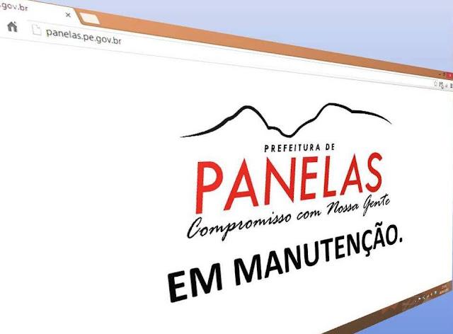 Prefeitura de Panelas deve criar Portal da Transparência na Internet