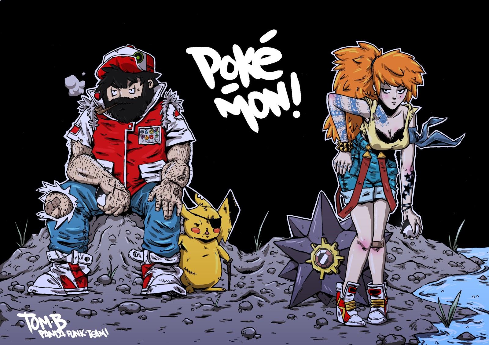Pokemon game characters (set 04) - Pokemon Games