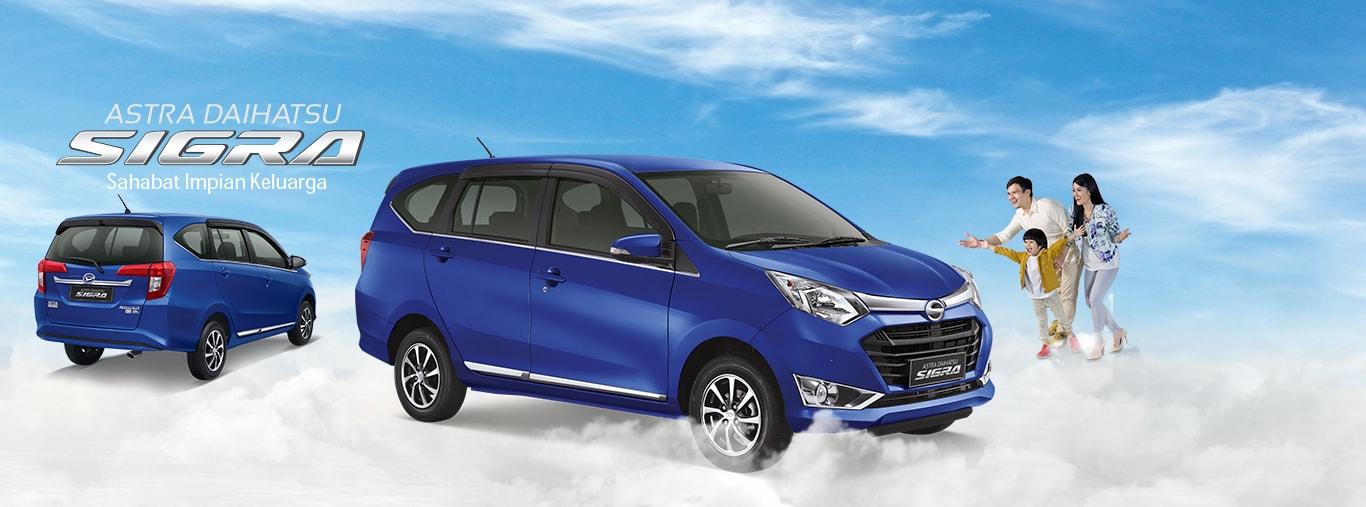 Info Spesifikasi dan Variant Daihatsu Sigra