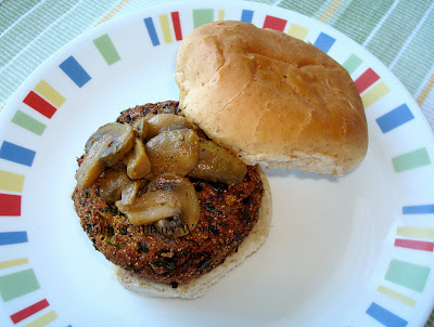 vegan aloo methi burger