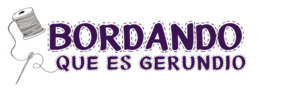 Bordando, que es gerundio | Blog de costura