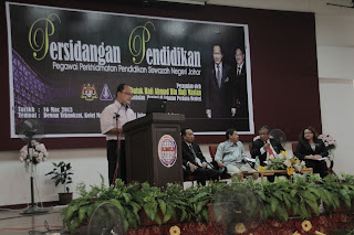 Persidangan Pendidikan Pegawai Perkhidmatan Pendidikan Siswazah Negeri Johor : Sesi 2