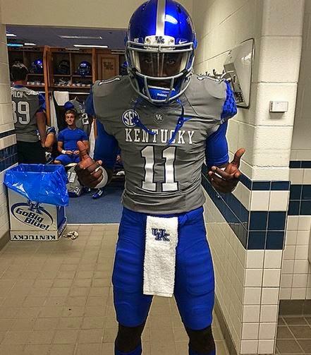 Kentucky Wildcats Uniform Tracker: Week 8: Kentucky @ LSU