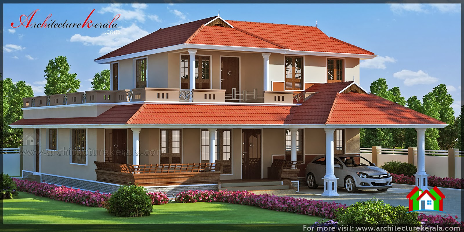 Architecture kerala kerala plans and elevations for Home designs kerala architects
