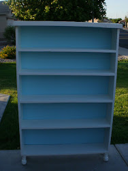Shabby Chic Bookcase  *SOLD*