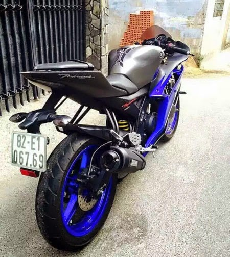 modifikasi Yamaha R15 fairing R6