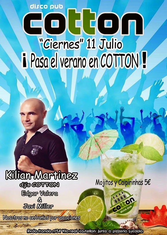 """Ciernes"" 11 de Julio @ Disco Pub Cotton"