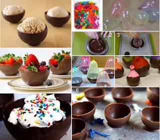 Postres con Chocolate para Navidad, Ideas Originales