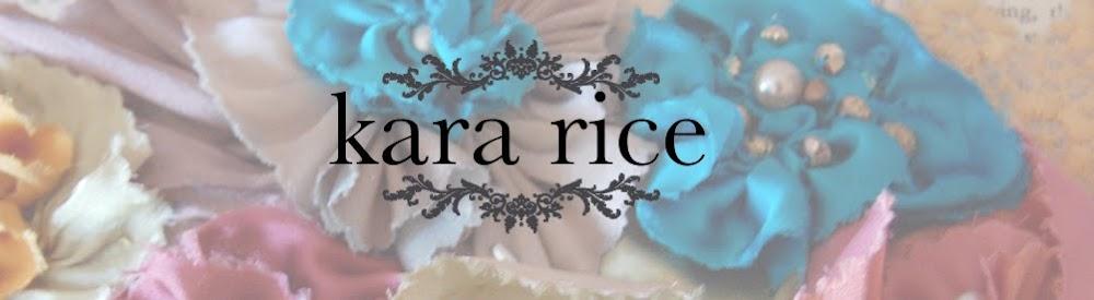 kara rice