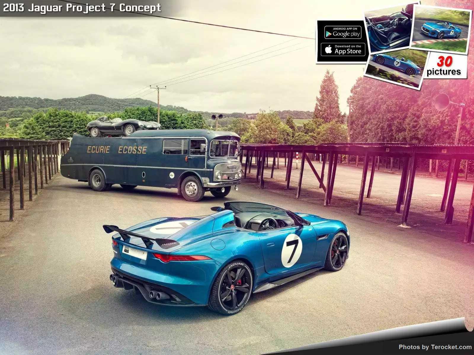 Hình ảnh xe ô tô Jaguar Project 7 Concept 2013 & nội ngoại thất