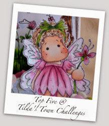 top 5 at  Tilda´s Town Challenge 135