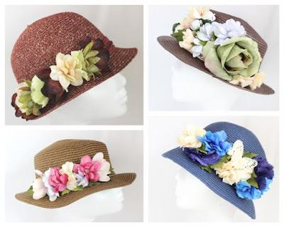 2016 - Coleccion Sombreros 00 flor