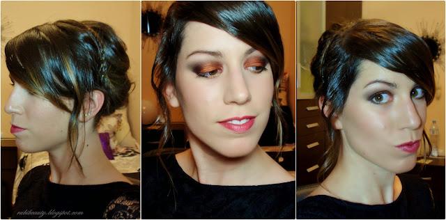 rubibeauty fin de año peinado serena gossip girl molten pigmentos pure luxe blake lively