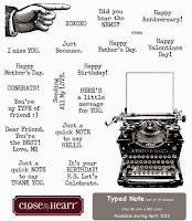 April SOTM: Typed Note