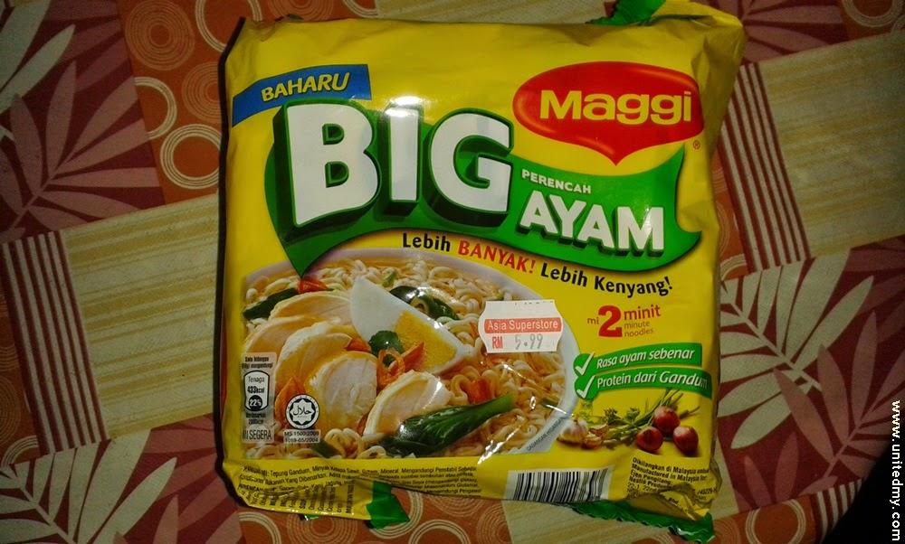 New Maggi Big ayam RM 5.99 2014