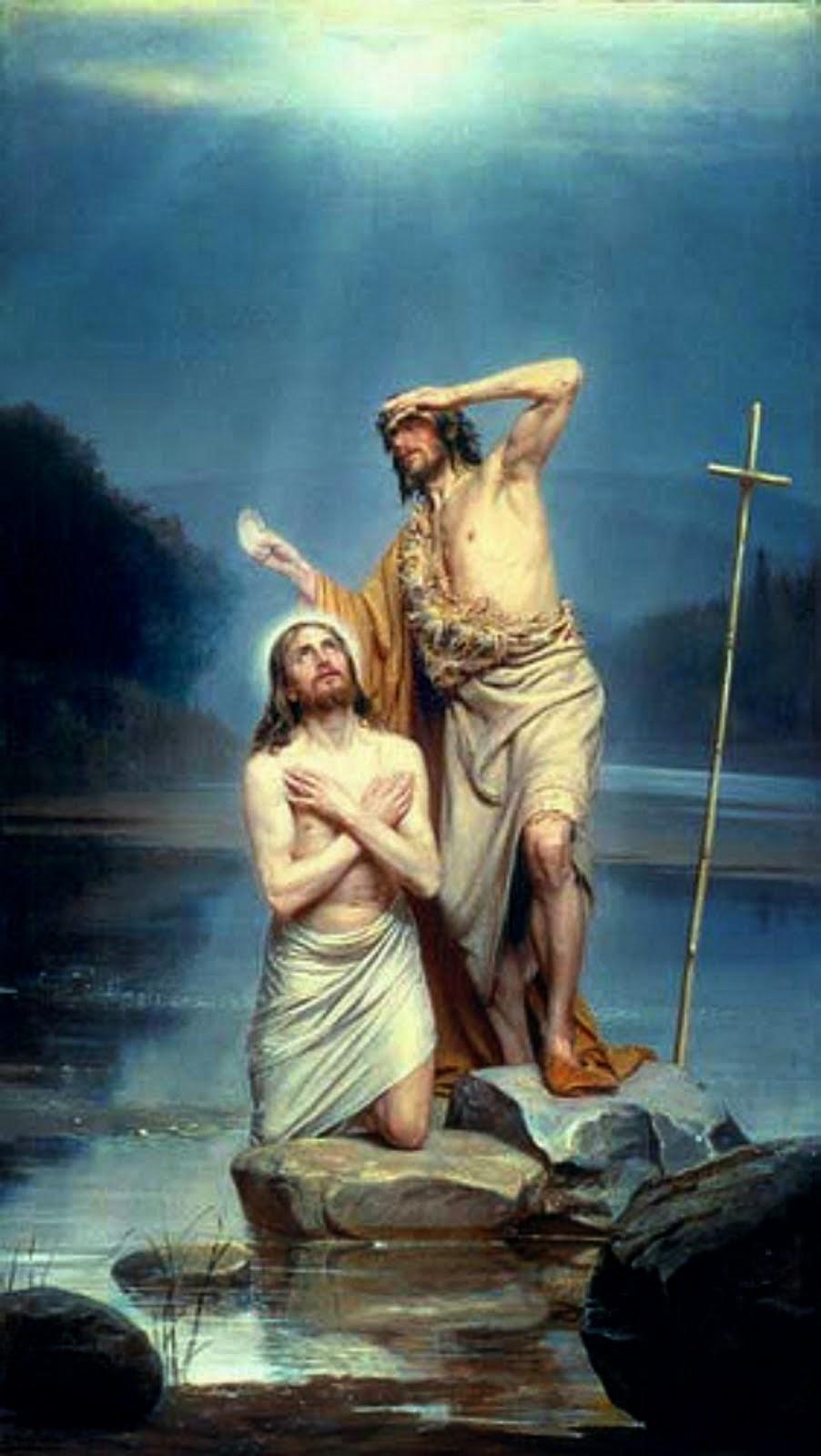 """A Farsa do Batismo de """"Jesus"""""""