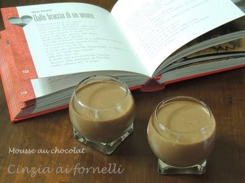 mousse al cioccolato, mousse au chocolat