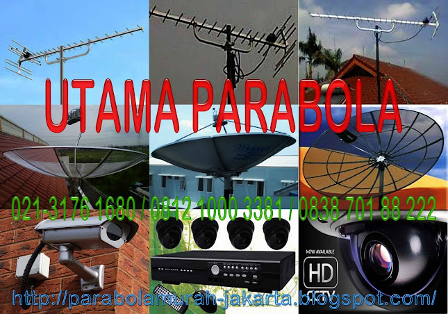 paket murah antena tv-parabola-cctv