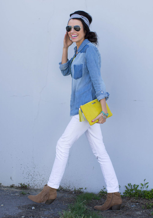 StyleAndPepperBlog.com : : Trendwatch // Doubled-up Denim