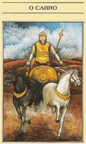 Arcano VII, O Carro - Como ler tarot