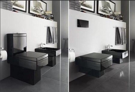 Tips para decorar el baño en color negro