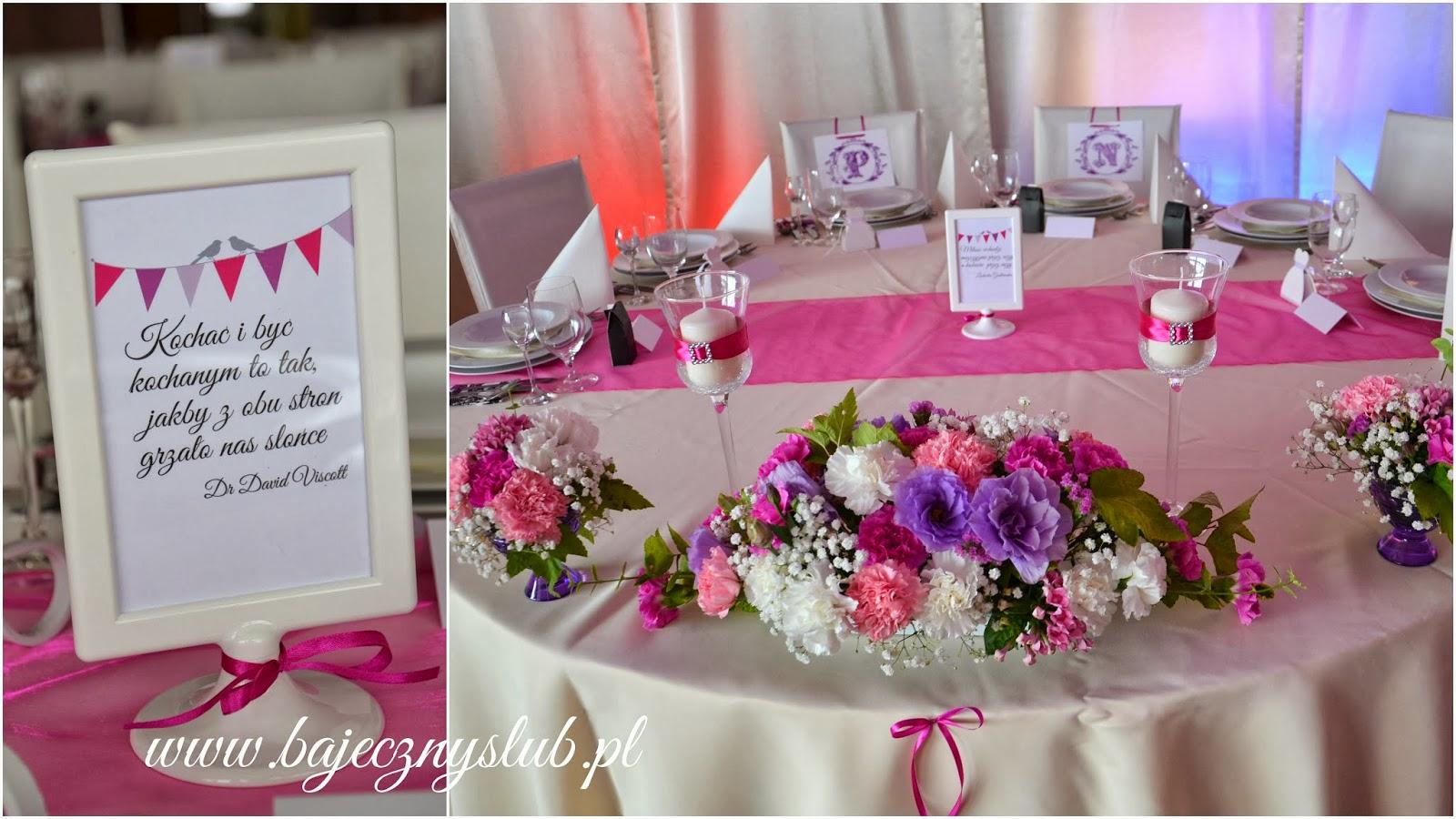 Bajeczny ślub świdnica Dekoracje Sali Weselnej W Hotelu Esperanto W