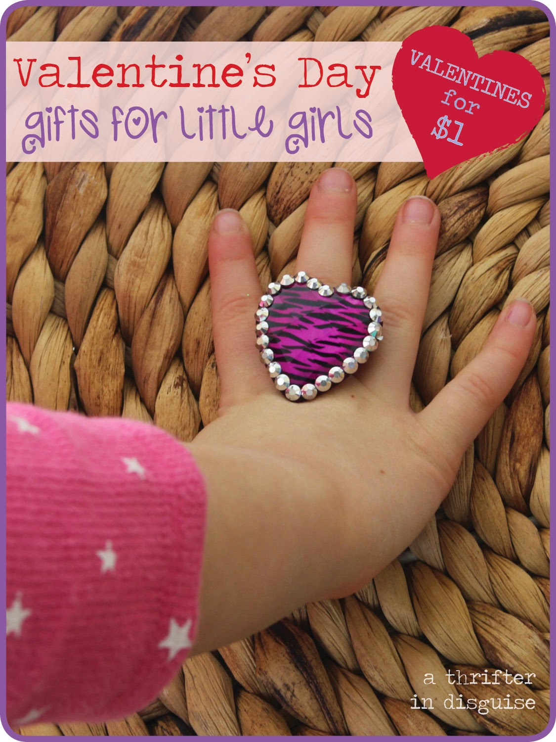 Dollar Store Jewelry for Girls